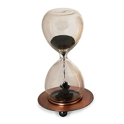 Desktop Toys Magnetic Sand Hourglass Timer Fun Home Office Desk Game Present Toy