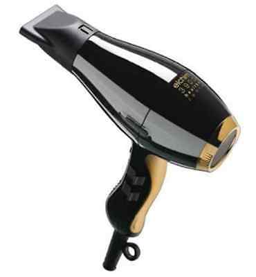 Elchim 3900 Healthy Ionic Dryer 2400w Black and Gold