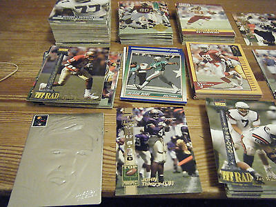 180  Mint   High Quality American Football Cards  Inc  Limited Ed Cards -
