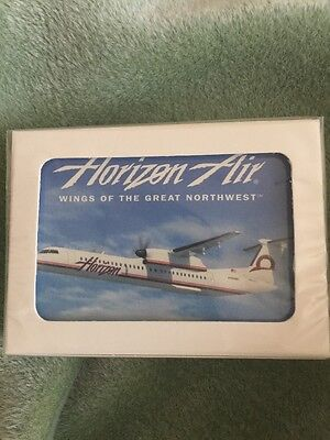 Horizon Air Wings Of The Great Northwest Airlines Playing Cards Sealed