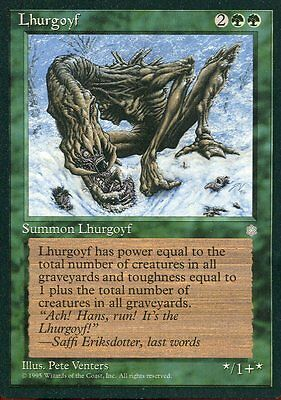 Magic Lhurgoyf Mtg Ice Age Inglese Verde
