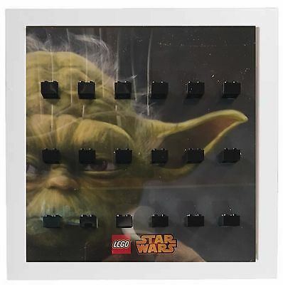 Display frame case for Lego Star Wars Yoda Minifigures Minifigs Darth Vader