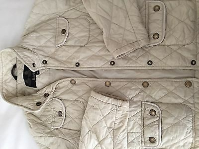 Girls Size M Barbour Quilted Jacket