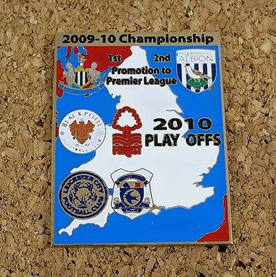 Badge Blackpool Cardiff Leicester City West Bromwich Albion Newcastle United