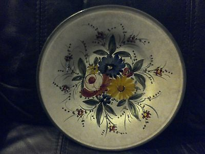 Italian wall plate 21cm. Deruta, made in Italy