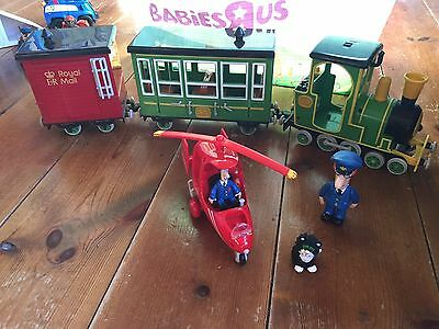 Postman Pat Train And Helicopter