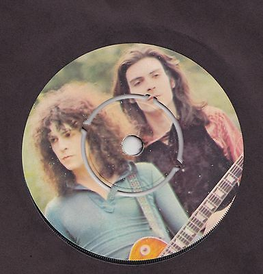 Marc Bolan T.rex  Jeepster  4 Prong Single    Very Good Condition   1971 ******