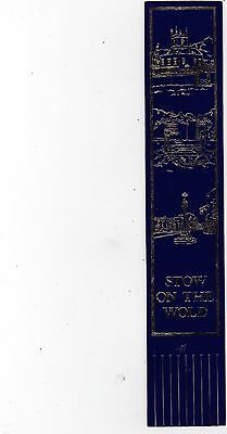 Leather Bookmark : Stow On The Wold, Gloucestershire.