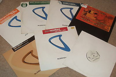 """7 x 12""""   Subliminal Records Collection....  QUALITY HOUSE...EX CONDITION!!"""
