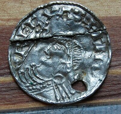 Ancient Viking england Silver Aetelred penny pendant