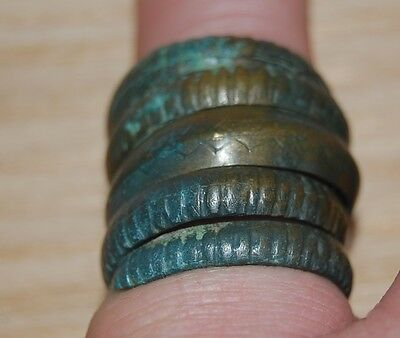 Ancient Vikings BRONZE RING.PERFECT SAVE.S
