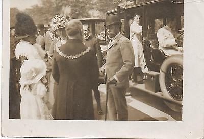 1912 RP: ROTHERHAM King George V + Queen Mary's visit 9.7.1912