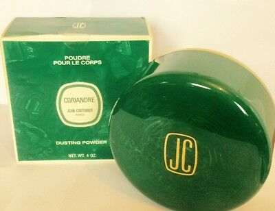 Coriandre Dusting Powder By Jean Coururier 120G Rare Vintage New Boxed