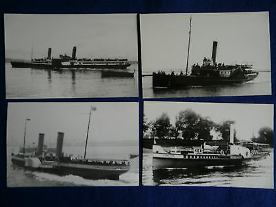 4 Paddle Steamers - Including  Penelope