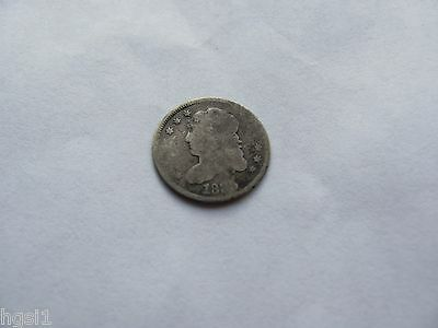 1835 Capped Bust Silver Half Dime **nice Circulated Type Coin** Free Shipping!