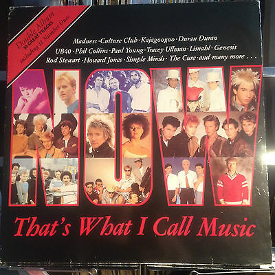 Now That's What I Call Music 1- Ex Double Vinyl Lp