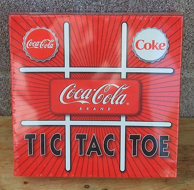 Coca Cola Tic Tac Toe Set