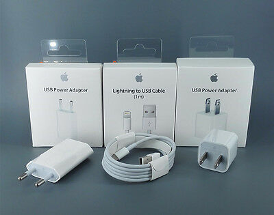 Lightning USB Data Cable Charger for iPhone 5 6 7 in Retail packaging