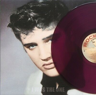 Elvis Presley, I WAS THE ONE, clear CERISE PINK VINYL, Limited Edition of 250