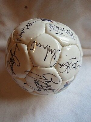 Hand Signed 15 + Premier League 1990s Mini Football Manchester Utd