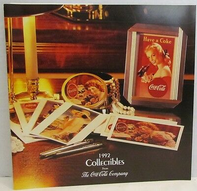 1992 Coca-Cola Collectibles Catalog from Coke