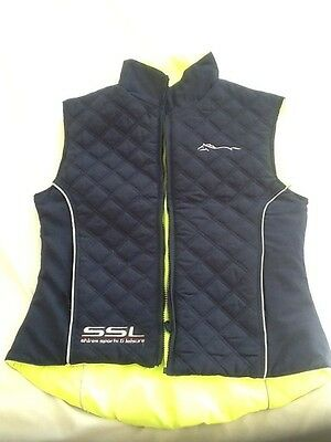 Shires Sport and Leisure high vis riding gilet waistcoat size extra small