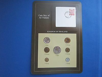 Coin Sets Of All Nations Kingdom Of Thailand With Information Card