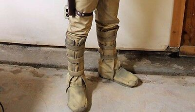 """Bespin costume shoe covers. NEW FOOT design and """"dirtied up"""""""