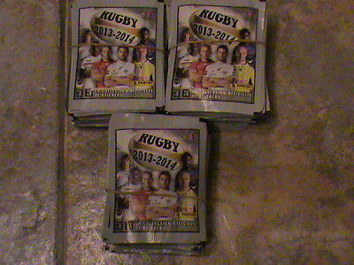 Lot 188 Paquets  Images Panini Rugby 2013 2014