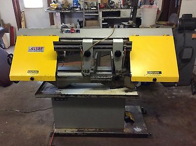 "Msc Model Mh-916Jrp Horizontal Bandsaw, 800 Pounds,coolant,1""blade,pickup Only."