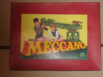 Vintage Meccano Outfit  Number 4  1950's