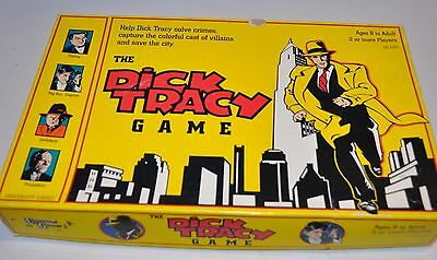 DICK TRACY vintage BOARD GAME University Games