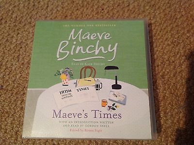 Maeve's Times By Maeve Binchy Audiobook Cd