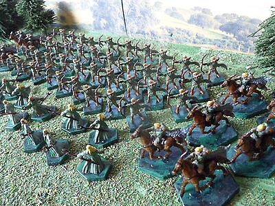 1/150 15mm Fantasy Elf Army Miniature Figures Wargame
