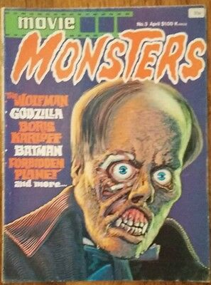 """Movie Monsters no 3 """"1975"""""""