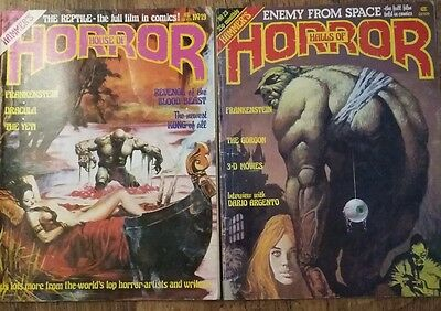 House and Halls of Horror vol 2 no 19 and 23