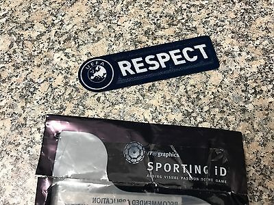 Official Uefa Respect Sporting Id Lextra Patch Badge Senscilia Milan 2009/11 New