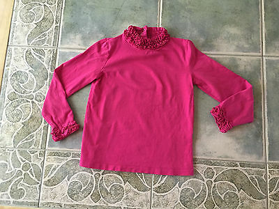 Girls Jillian's Closet Pink Ruffled Top sz 4T