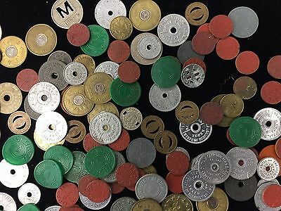 Tax, Ratioining and Transportation Tokens- Lot of 169