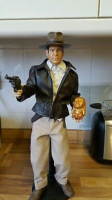 18 inch clothed talking indiana jones figure