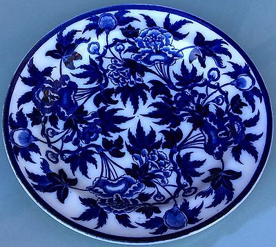 Wedgwood Plate Blue And White Peoney Pattern Dinner Plate