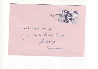 Scout Post Christmas Cover. Mumbles. Swansea. West Glamorgan 1989. Scouts.