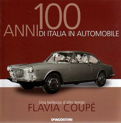Booklet LANCIA FLAVIA COUPE' rare 30 PAGES
