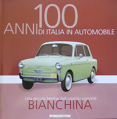 Booklet AUTOBIANCHI BIANCHINA rare 30 PAGES