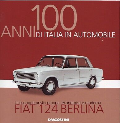 Booklet FIAT 124 BERLINA rare 30 PAGES