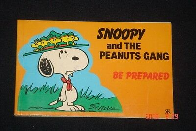 1985 Snoopy and The Peanuts Gang - Be Prepared