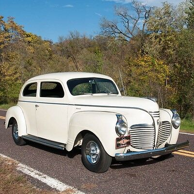 1941 Plymouth Other  P12 Two-door Sedan  1941 Plymouth P12 Two-door Sedan, Recently restored, 201 CID flathead, 3-spd Man