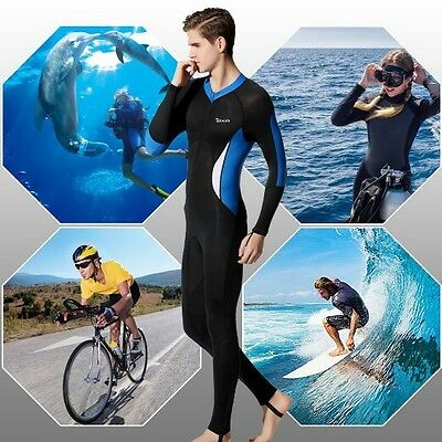 Wetsuit Lycra Full Body Skin for Snorkelling Swimming Diving UV Protect UPF 50+