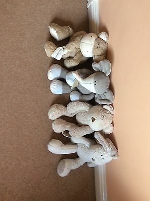"""Mamas And Papas Once Upon A Time Monkey, Pip, Peanut & Crumble Large Plush 18"""""""