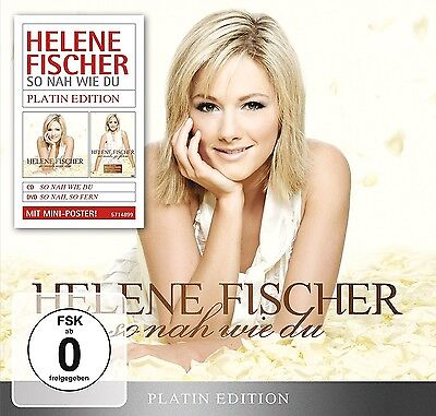 Helene Fischer - So Nah Wie Du (Platin Edition-Limited)   Cd+Dvd New+